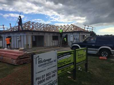 Building residential homes in Waikato